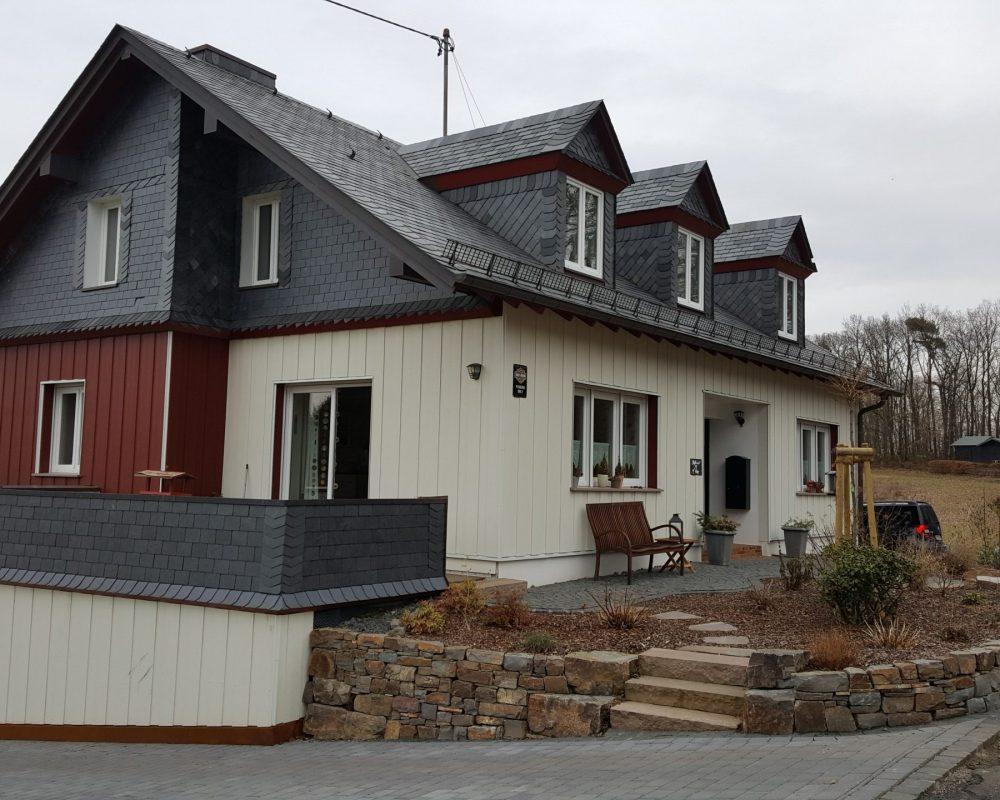 Haus vom Chef im Hunsrück