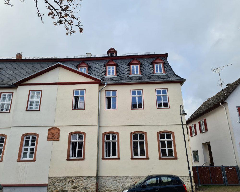 denkmalgeschütztes Haus in Frankfurt