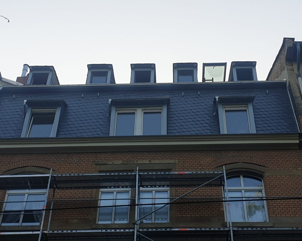 denkmalgeschütztes Haus in Mainz